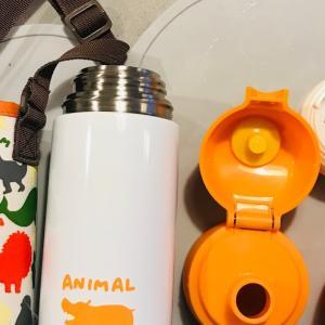 軽い・2WAY 二歳児初めてのステンレス水筒はこれにしました