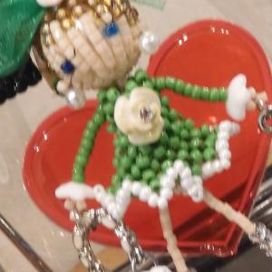 ビーズ人形「乙女のおもちゃ箱展」
