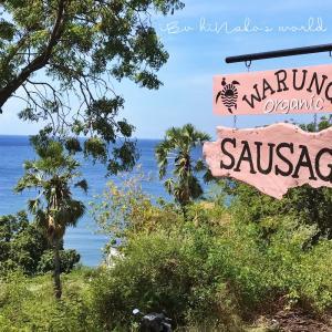 warung sausage @amed