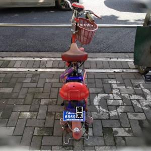 上海の電動自転車事情