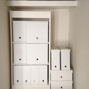 IKEAと無印のファイルボックスがシンデレラフィット~!!