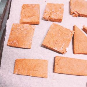 適当米粉チョコクッキー