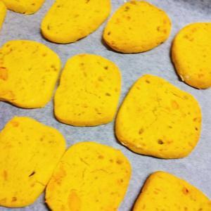 カボチャ米粉クッキー