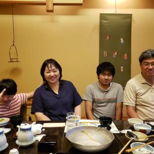 コロナ禍の中、和食料理店「梅の花」に結婚記念日で行ってきました