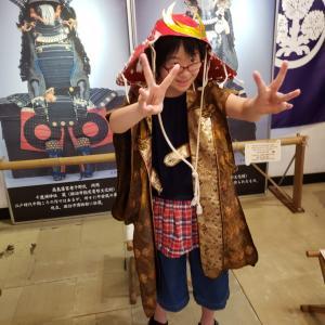 早希ちゃん、高島城に行く