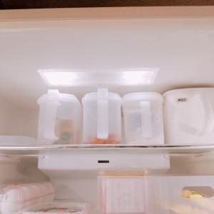 我が家の冷蔵庫収納♪