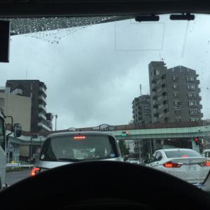 雨の東京と東京への想い。