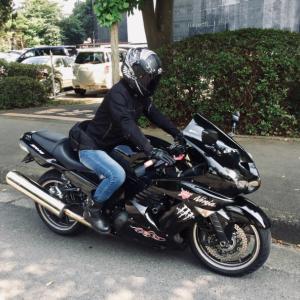【バイク屋稼業】ZZR1400の車検へ。