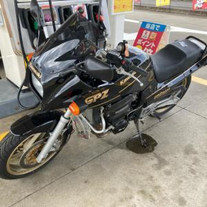 1ヶ月振りにバイクに乗りました、が。