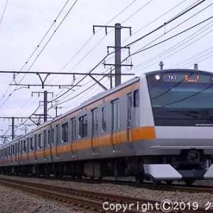 485系 華 快速「お座敷 青梅奥多摩号」 福生~羽村