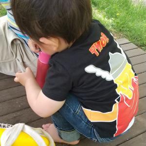 息子、もうすぐ1歳8ヶ月。