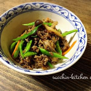 【サクッとできる1品料理】~牛肉と秋野菜の焼肉風~