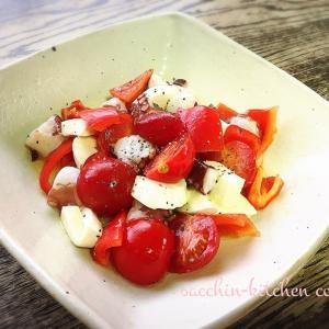 サクッとできる1品料理~タコの赤いサラダ~