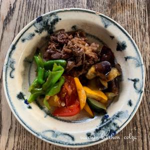 サクッとできる1品料理~夏野菜のすき焼き~