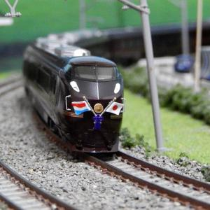 【Nゲージ鉄道模型】祝 即位礼正殿の儀本日執り行われます 記念にKATOE655系和の画像をアップ致しますヽ(=´▽`=)ノ