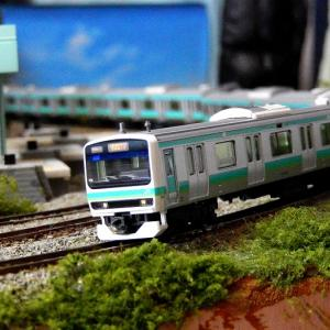【Nゲージ鉄道模型】<5月特別企画常磐線特集> KATOE231系 常磐線・上野東京ライン10両入線基本整備施行しましたヽ(=´▽`=)ノ