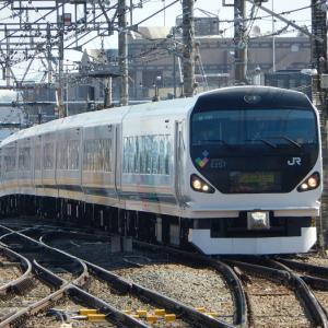 【JR東日本】E257系長野に留置されているモトM203編成富士急へ譲渡か?あくまで噂ですが・・・ヽ(=´▽`=)ノ