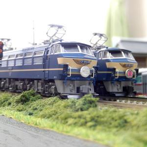 【Nゲージ鉄道模型】EF66の日 KATO・TOMIXの当鉄道所属ロクロクのご案内ですヽ(=´▽`=)ノ
