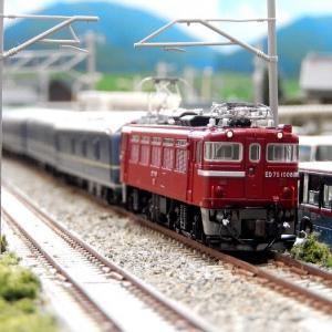 【Nゲージ鉄道模型】本日はED75の日!当鉄道所属のKATO ED75-1000番台のご紹介ですヽ(=´▽`=)ノ