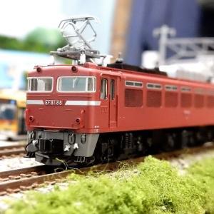【Nゲージ鉄道模型】KATOとTOMIXの当鉄道所属EF81のご紹介です。本日8月1日はEF81の日!ヽ(=´▽`=)ノ