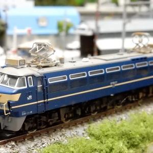 【Nゲージ鉄道模型】TOMIX EF66-27ディテールアップ工作ウェザリング完成編ヽ(=´▽`=)ノ