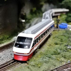 【Nゲージ鉄道模型】<入線報告>マイクロエース A2651東武200系・シングルアームパンタ特急「りょうもう」6両セットが入線しました(再入線)ヽ(=´▽`=)ノ