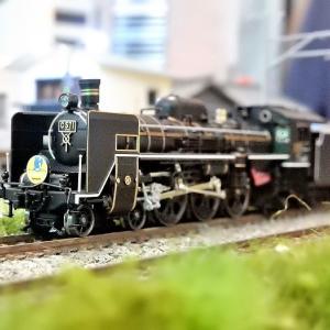 【Nゲージ鉄道模型】<入線整備> KATO 2024-1 C57 1ナックルカプラー取付とナンバー取付け工事施行しましたヽ(=´▽`=)ノ