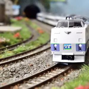 【Nゲージ鉄道模型】<入線報告>TOMIX 98261 キハ183系 特急 大雪 セットA が入線しましたヽ(=´▽`=)ノ