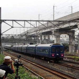 【鉄道写真アーカイブ】2015年8月21日 寝台特急「北斗星」東十条(ヒガジュウ)で下り最終列車を撮りました!