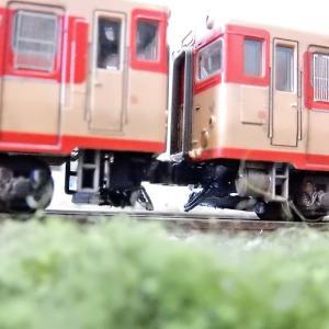 【Nゲージ鉄道模型】<国鉄名車両列伝シリーズ>KATO キハ58系いいで・ざおうナックル化した先頭車の下回りを何とかしてみました(^^ゞ