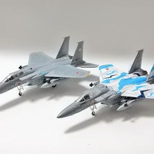【航空機事業部】アルジャーノ(カフェレオ) 1/144戦闘機 JWings Jウイング 世界の主力戦闘機 017F-15J イーグル 303飛行隊組み立て完成しました(^^ゞ