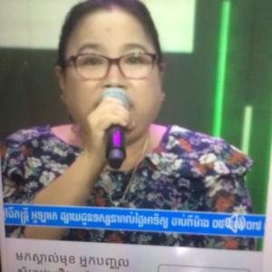 カンボジアの声優さん