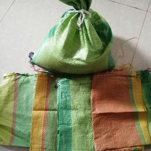 カンボジアのお米の袋