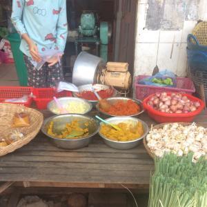 カンボジアの家庭料理 : ソムロームチュークルン