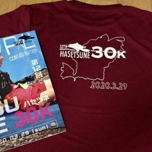 ハセツネ30K参加賞と距離合わせジョグ。