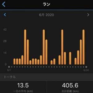 2020年6月の月間走行距離。プチ故障の1ヶ月。