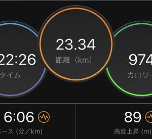 やっぱり、今日は○○キロ走るどー。って決めないとダメだなw