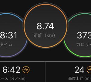 5ヶ月連続400kmにリーチ