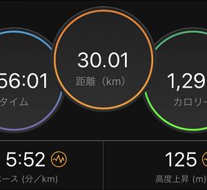 30kmジョグで中学駅伝大会に遭遇。