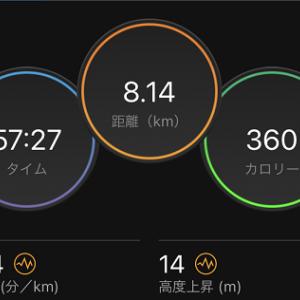7日で160km以上走っても増加する体重って一体、、、