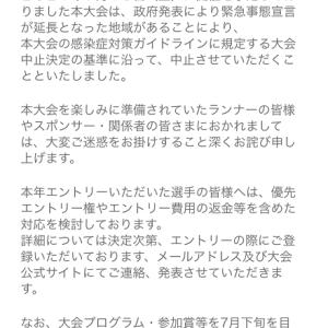 さよなら、富士登山競走(´;ω;`)