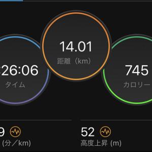 5日ぶりに走ってみた。