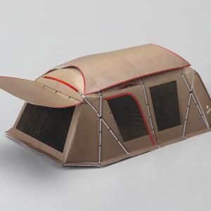 テントのペーパークラフト第5弾。〜スノーピーク ランドロック〜