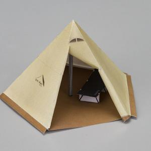 テントのペーパークラフト第6弾。〜テンマクデザイン サーカスTC〜