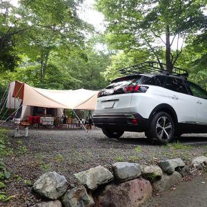 キャンプレポ。キャンプ再開はニュー田代オートキャンプ場で。