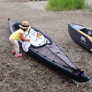 初めてのカヤックキャンプは三艇同時進水式。西湖・湖畔キャンプ場 ① 〜出航編〜