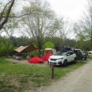 キャンプレポ。連続キャンプでかずさオートキャンプ場へ行って来ました。