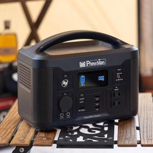 新型ポータブル電源 PhewManSmart 500(ヒューマン スマート500)