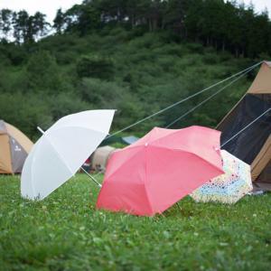 雨キャンプのススメ。