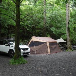 キャンプレポ。週末は奥道志オートキャンプ場へ行って来ました。